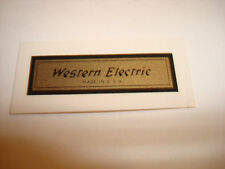 Western Electric 1940-69 for sale | eBay on