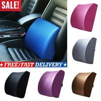 Lower Back Lumbar Support Cushion Memory Foam Car Pillow Pain Tailbone Chair