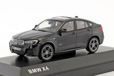 BMW X4 Black, official dealer model scale 1:43, new car mens gift