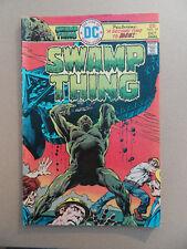 Swamp Thing 19 . Nestor Redondo . DC 1975 . FN