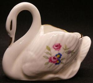Vintage Royal Albert Swan Ornament