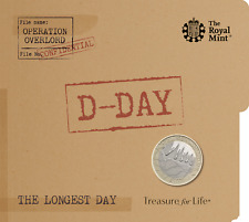 75th Anniversary of D Day 2019 £2 BU Coin Pack