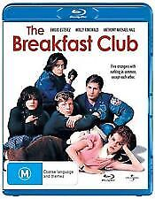 THE BREAKFAST CLUB BLU RAY - NEW & SEALED JOHN HUGHES,MOLLY RINGWALD,JUDD NELSON