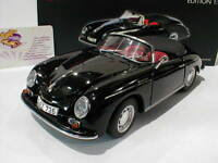 """Schuco 00308 # Porsche 356 A Speedster Baujahr 1955-58 in """" Schwarz """" 1:18 NEU"""