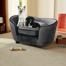 Large Pet Dog Cat Sofa Chair House Bed Warm Cushion Lounge Couch Enchanted Plush