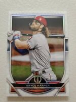 BRYCE HARPER 2021 TOPPS TRIBUTE BASEBALL CARD #7 PHILADELPHIA PHILLIES