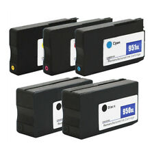 5PK Ink Cartridges 950xl 951xl for HP OfficeJet Pro 251dw 8600 Printers