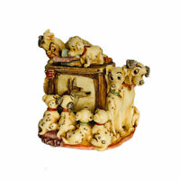 Walt Disney Harmony Kingdom 101 Dalmations Cruella de Vil Figurine Vintage 2002