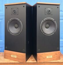 Vintage PAIR (2) ADVENT LEGACY III 2-way Floor Speakers ~ New Surrounds