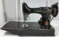 Vintage Singer Sewing Machine 221.1 Featherweight Portable Electric w/ Case