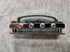 4-String Bridge Replacement With Baseplate And Cover For 4005 Rickenbacker Bass