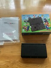 NEW Nintendo 3DS Super Mario Black (Black Friday Limited Edition RARE) FREE SHIP