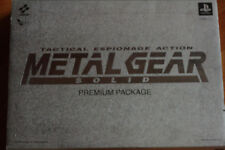 Metal Gear Solid - Playstation 1/PS1 Japanese premium pack COMPLETE!