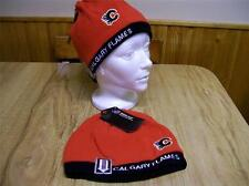 CALGARY FLAMES  RED LICENSED NHL TOQUE NEW W/ TAGS