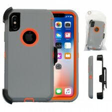 New For Apple iPhone X Heavy Duty Case w/ Belt Clip fits Otterbox Defender