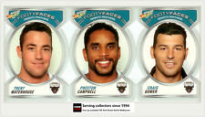 2006 NRL Accolades Series Trading Cards Face Die Cut Team Set Panthers (10)