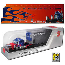 TransFormers DOTM SDCC 2011 Leader Ultimate Optimus Prime w Trailer MISB AOE G1