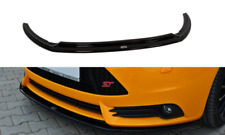 FRONT DIFFUSER VER.2 (GLOSS BLACK) FITS FOR FORD FOCUS MK3 ST PREFACE (2012-14)