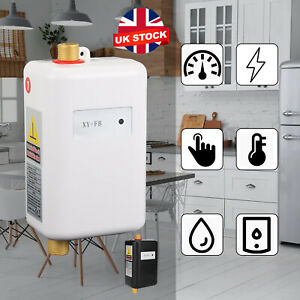 3000W Electric Under Sink Tap Tankless Instant Hot Water Heater Kitchen Bathroom