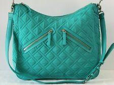 Vera Bradley Vivian Hobo Bag Turquoise Sea
