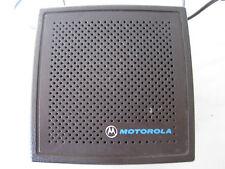Motorola External Speaker for Mobile, Trunking, CB or 2-Way Astro Spectra Radios