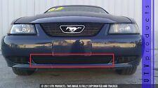 GTG 1999 - 2004 Ford Mustang V6 and GT 1PC Gloss Black Bumper Billet Grille