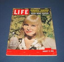 LIFE MAGAZINE AUGUST 17 1959 MAY BRITT STEVEN ROCKEFELLER PAUL ENGLE NIXON