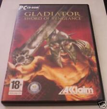 GLADIATOR Sword of Vengeance gioco pc originale ITA PAL