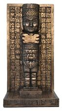 Veronese Bronze Figurine Maya Mayan Statue Bookend Single Gift Mythology