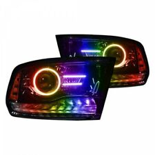 For Ram 2013-2018  ColorSHIFT Projector Headlight Halo Kit Oracle