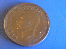 CANADA ONE 1 CENT 1941 KING GEORGE VI