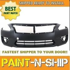 NEW Fits: 2013 2014 2015 Nissan Altima Sedan Front Bumper Painted NI1000285