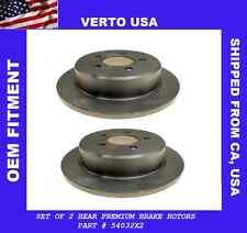 Rear Disc Brake Rotors For Ford Explorer 1995-1996-1997-1998-1999-2000