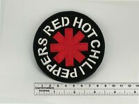 "Red Hot Chili Peppers round patch 9cm x 9cm / 3,2"" x 3,2"""