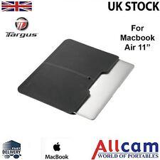 """TARGUS Laptop/Netbook Custodia per MacBook Air 11"""" in NERO, NUOVO"""