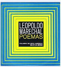 LP LEOPOLD MARECHAL POEMAS (CASA DE LAS AMERICAS)