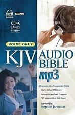 MP3 Bible-KJV-Voice Only by Hendrickson Publishers Inc (CD-Audio, 2011)