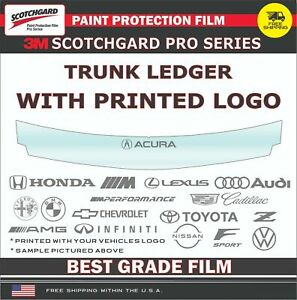 3M SCOTCHGARD PRO PAINT PROTECTION FILM CLEAR BRA FOR 12-17 BUICK REGAL