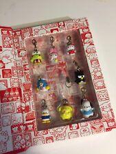 Rare Sanrio Original Classic Hello Kitty Trinket Charm Zipper Pull SET PURIN