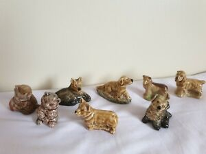 Wade Whimsies Cats And Dogs Joblot labrador, spaniel, Alsation