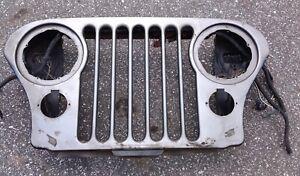 Jeep Cj Grill CJ5 Cj7 Cj8 AMC 76-86 Grille