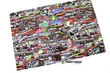 RC 1:10 CAR Stickerbomb Pellicola Adesivo Heli barca skull decal sticker DRIFT