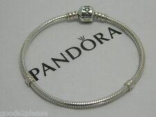 """Authentic Pandora S/S 925  Barrel Clasp Bracelet 7.1""""-18cm  #590702HV"""