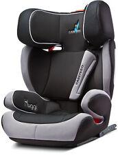 Caretero Huggi Isofix Auto Kindersitz Kopfstütze 15-36 kg Gruppe 2, 3 Schwarz