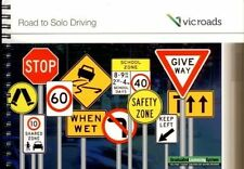 VIC ROADS Road To Solo Driving Car Learner Book 2017 Nov Edition + 2 x L Plates
