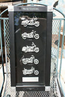 Harley Davidson Shadow Box 2007 Motorcycle Decor Biker Bikes of the 80's