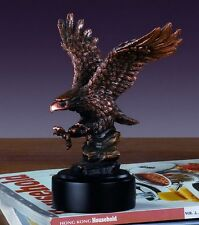 Hunting Eagle 5.5 x 7 Beautiful Bronze Statue / Sculpture Brand New