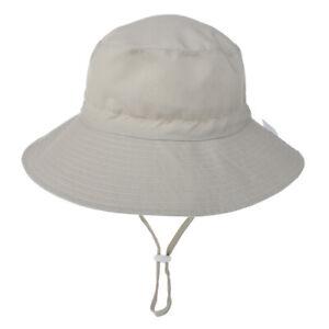 Kids UV Sun Hat with Ponytail Hole Upf 50 Bucket Cap for Girls Summer Beach Hat