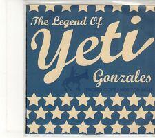 (EU247) Yeti, The Legend Of Yeti Gonzales - 2008 DJ CD