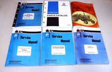 INTERNATIONAL IH 656 DIESEL TRACTOR  ENGINE SERVICE OPERATORS PARTS MANUAL SET